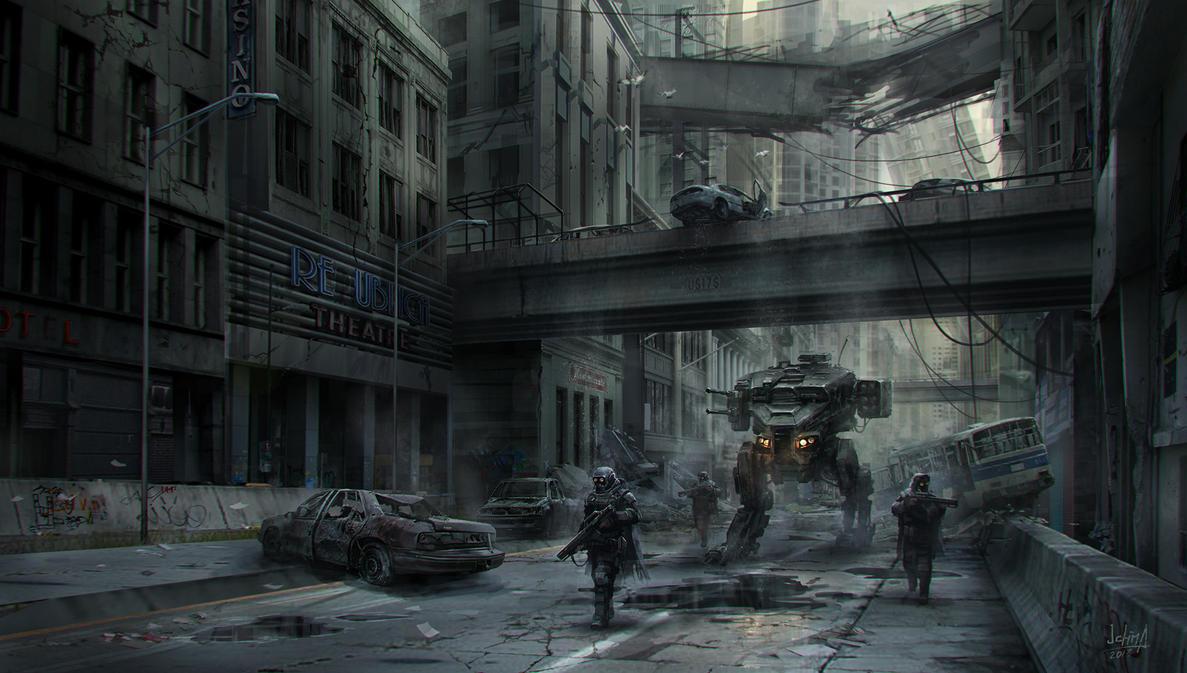 Merc Patrol by alex-ichim
