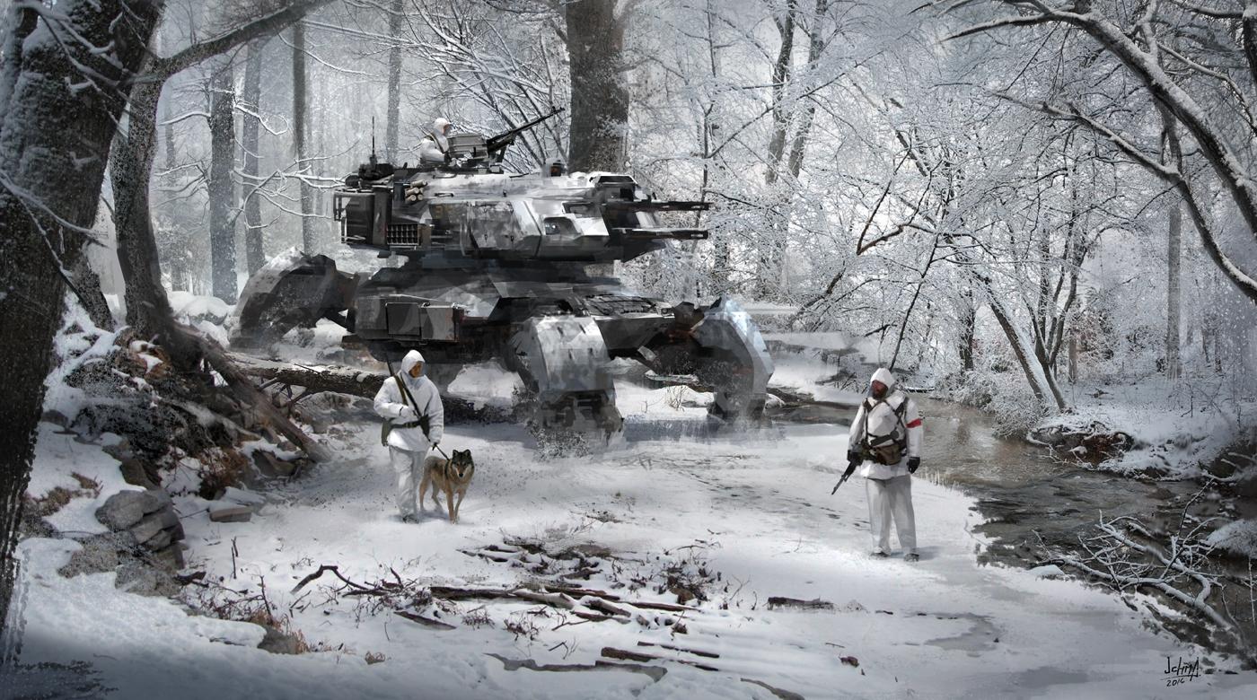 In the woods by alex-ichim