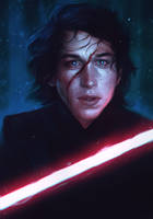 Kylo Ren by Withoutafuss