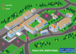 North Road Map
