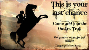 Outlaw Trail Ad
