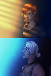 The hardest Goodbye and the best Hello by just-sora