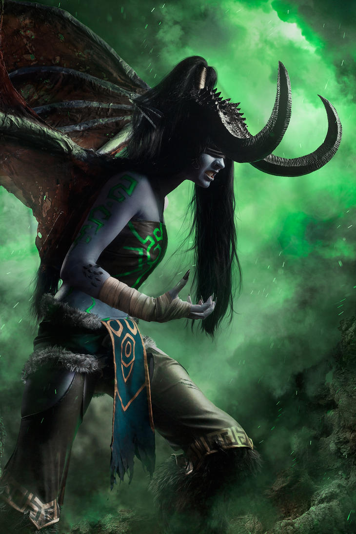Illidan Stormrage (fem.) by DEugen
