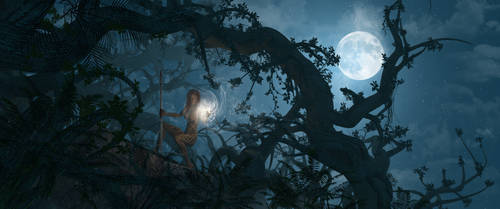 Hunter's Moonlight by michalz00