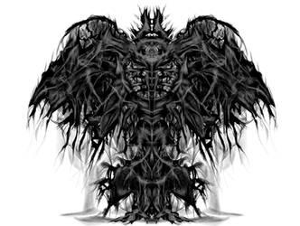 Dark Lord - Creature Concept by michalz00