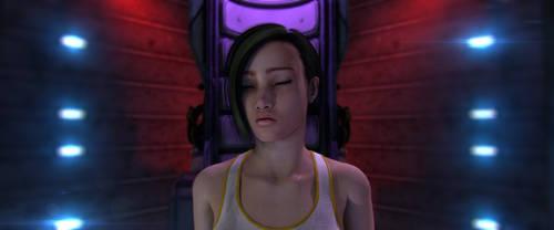 Incubation: Awakening 3D Art 1 by michalz00