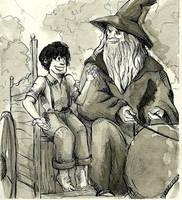 Gandalf's Cart by manonquinn