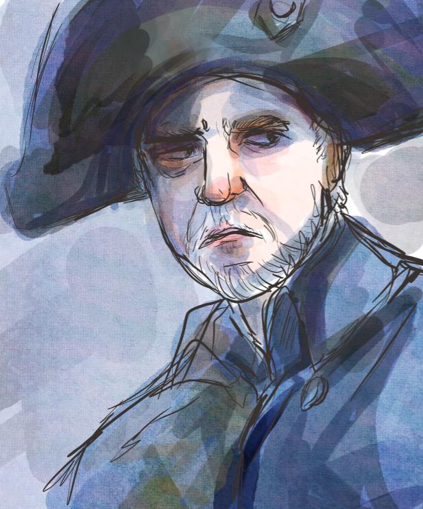 Javert portrait by manonquinn