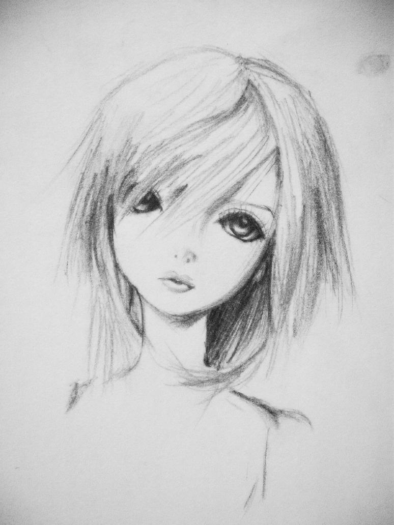 doll sketch by was-there on DeviantArt