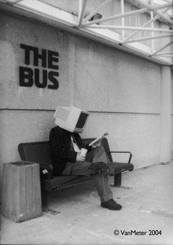 Bus Stop by VanMeter