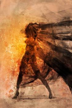 Burned Lady