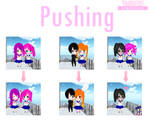 Is not the same with yandere-chan (Pushing)