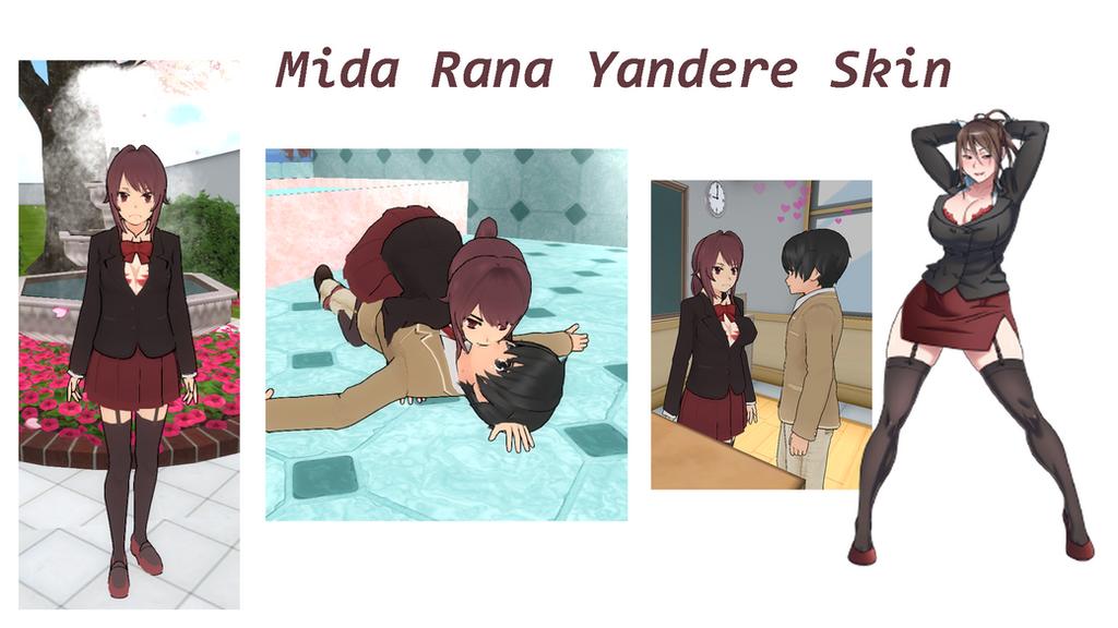 Mida Rana Yandere Skin By Yandereskins On DeviantArt - Skin para minecraft de yuno