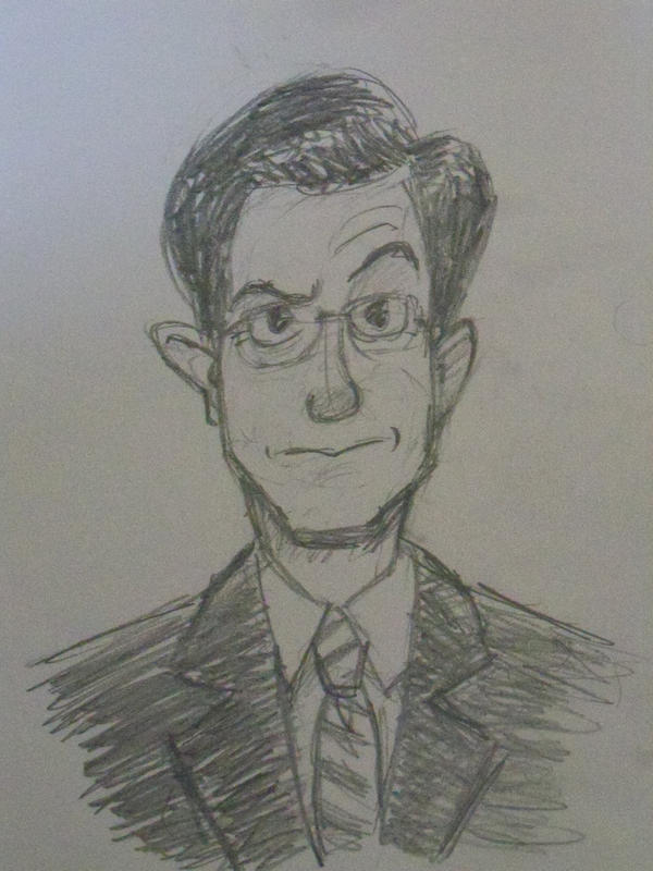 Stephen Colbert by LaundryPile