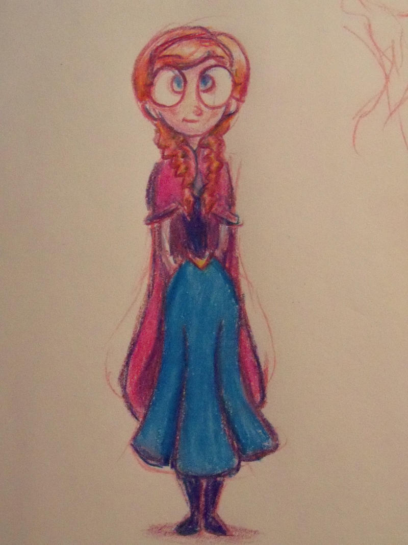 Anna from Frozen by LaundryPile