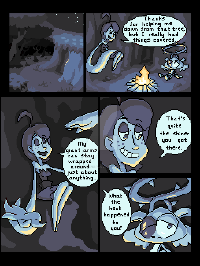 Where Rainbows End (Page 4) by LaundryPile