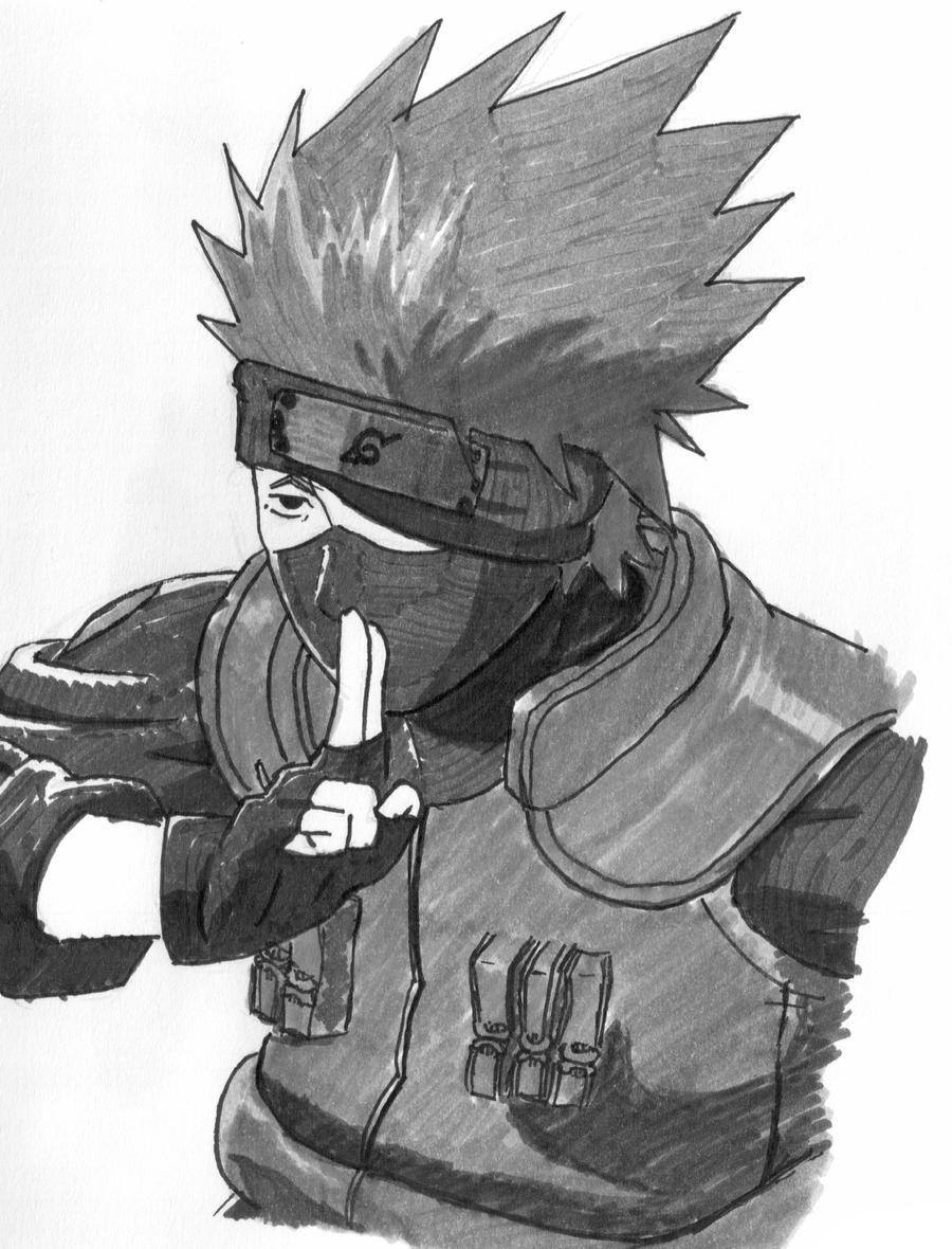 kakashi sketches - HD900×1180