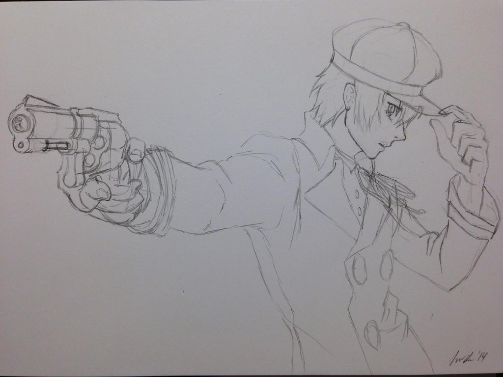 Naoto Shirogane - Persona 4 by InfinityApocalypse