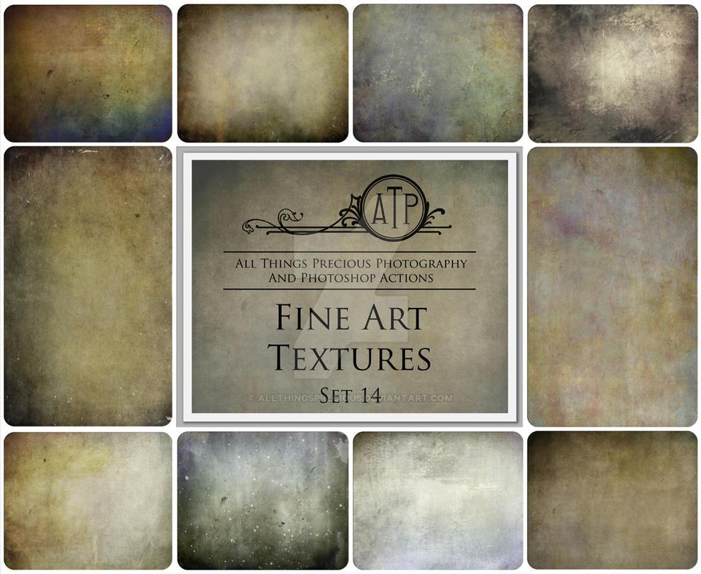 Fine ART Textures SET 14 by AllThingsPrecious