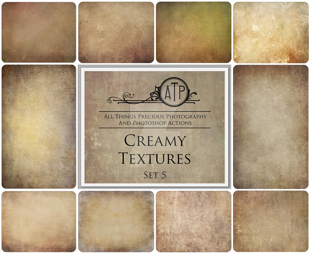 Creamy Textures Set 5 by AllThingsPrecious
