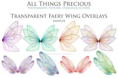Fairy Wing Overlays SET 15
