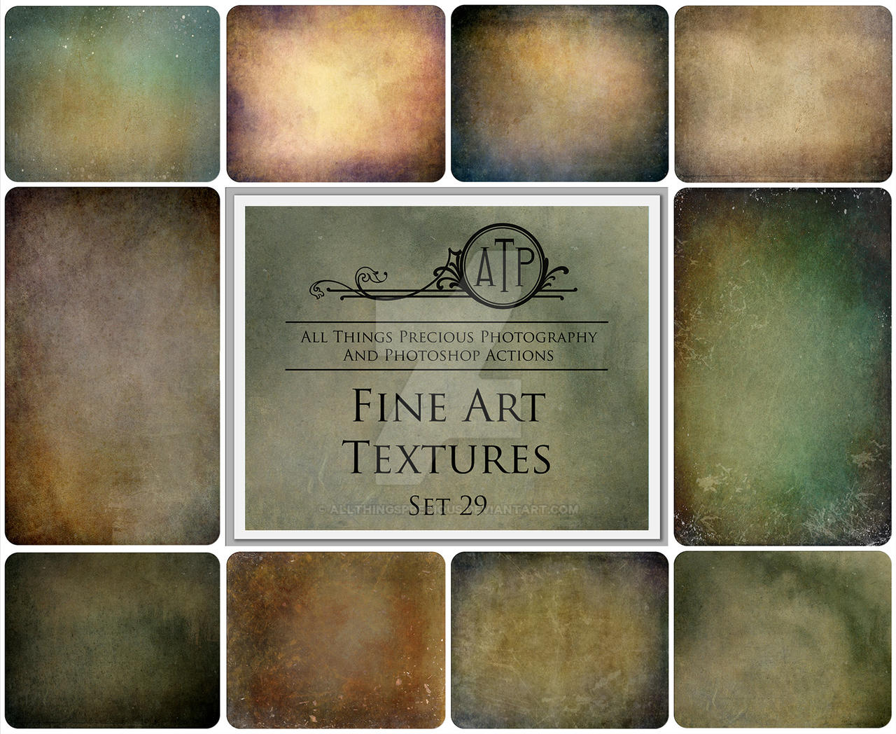 Fine Art Textures SET