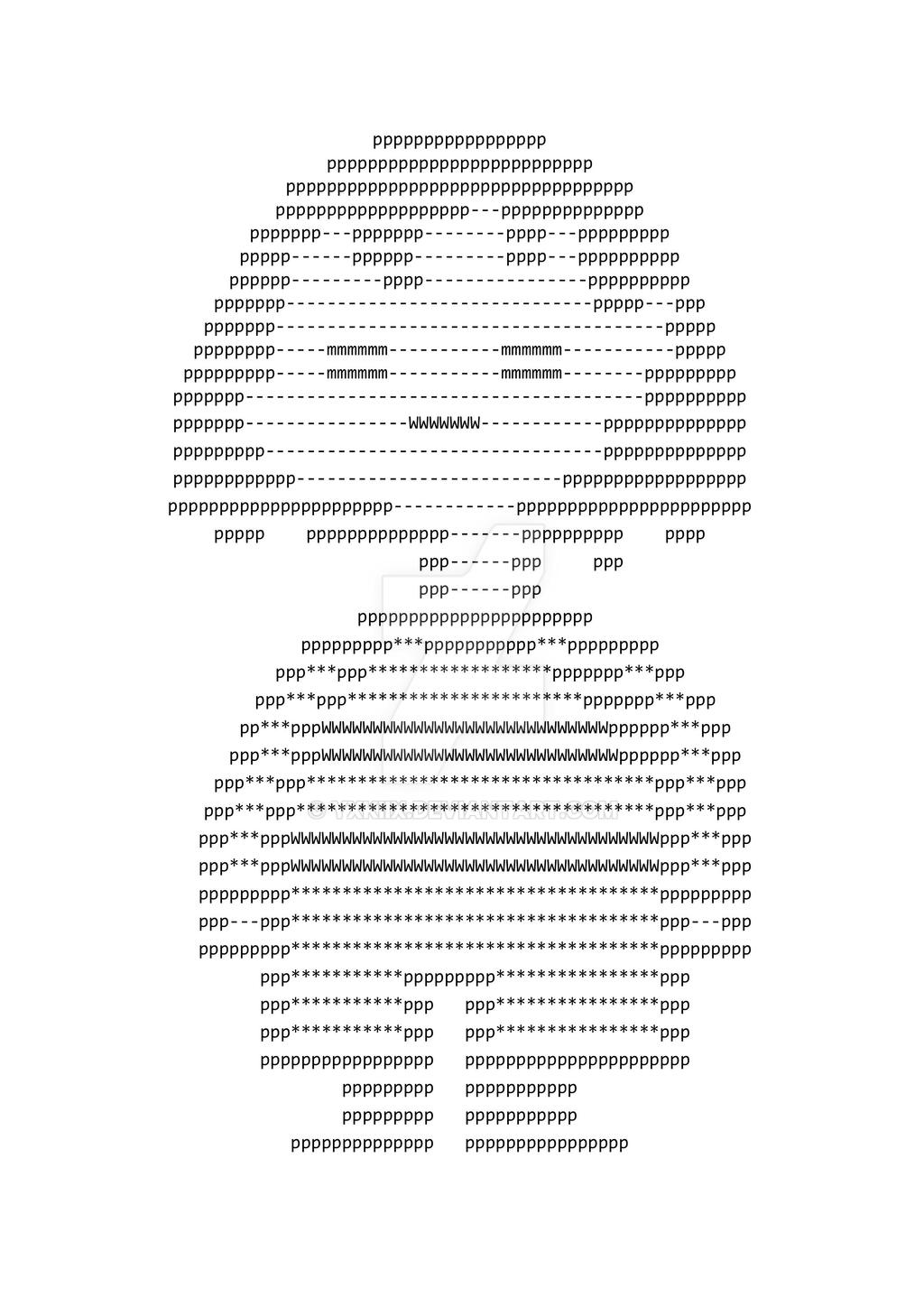 What Is ASCII Text Art? - Lifewire
