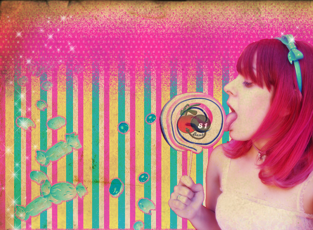 Sweet Candy Wallpaper Sweet Candy Girl by