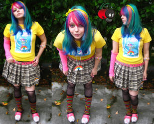 Rainbow Cherry Scene Style by cherrybomb-81