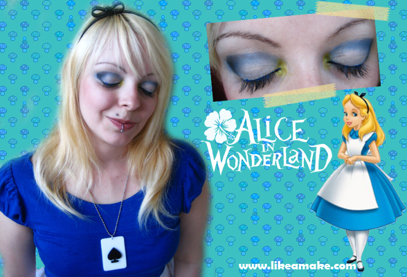 Makeup Tutorial Alice Disney by cherrybomb-81 ...