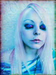 Cherry Pink Blond Girl Edit