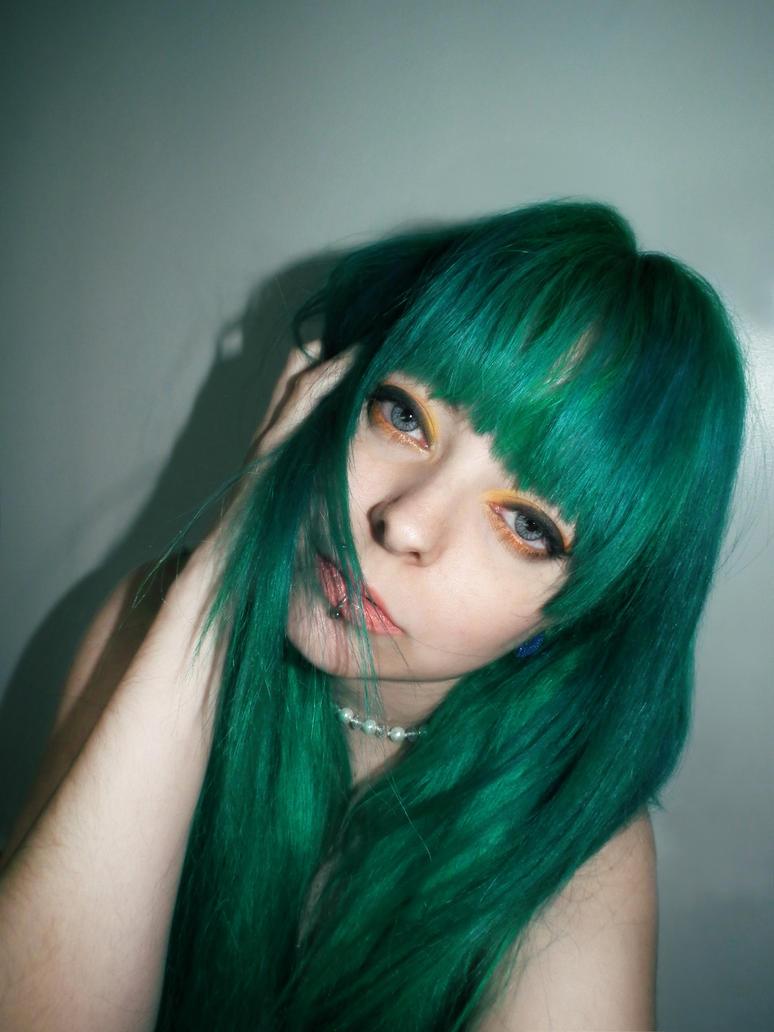 Green Hair Fy Hair Colors