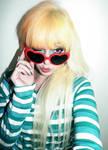 Heart Shaped Glasses Girl
