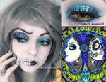 HallowLilly Halloween Makeup Look