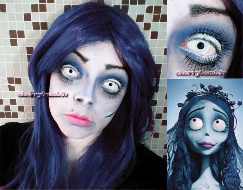 Halloween Makeup Inspired Look Corpse Bride by cherrybomb-81