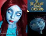 Halloween makeup Sally Nightmare Before Christmas