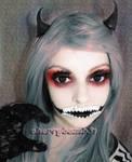 Halloween Evil Queen Makeup Look by cherrybomb-81