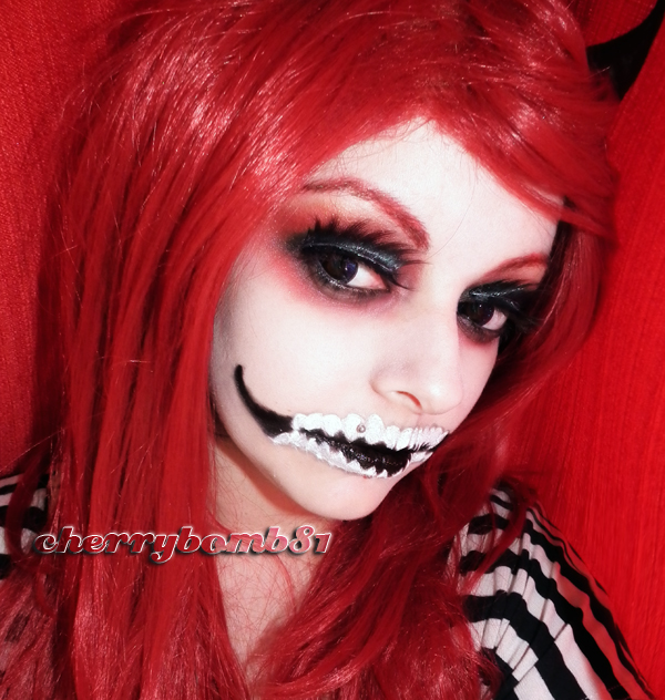 Halloween Evil Queen Makeup Look No edit by cherrybomb-81