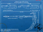 RWBY : Crescent Rose blueprints