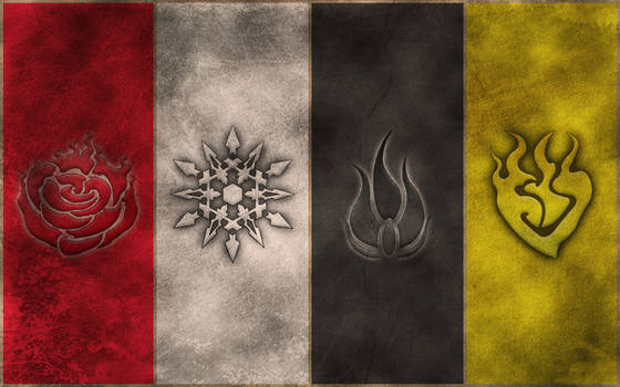 RWBY Symbols wallpaper