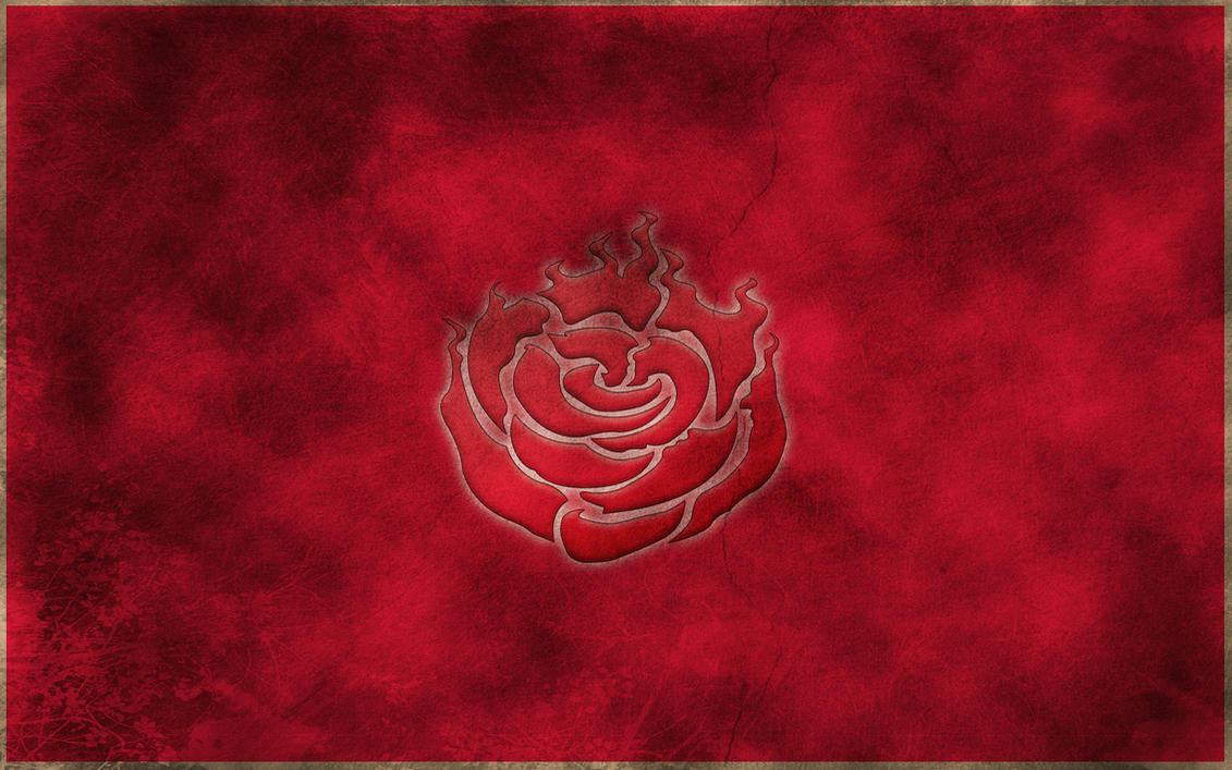 RWBY Ruby Rose Symbol Wallpaper By Crypticspider