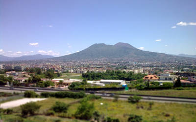 Vesuvius by junglechink