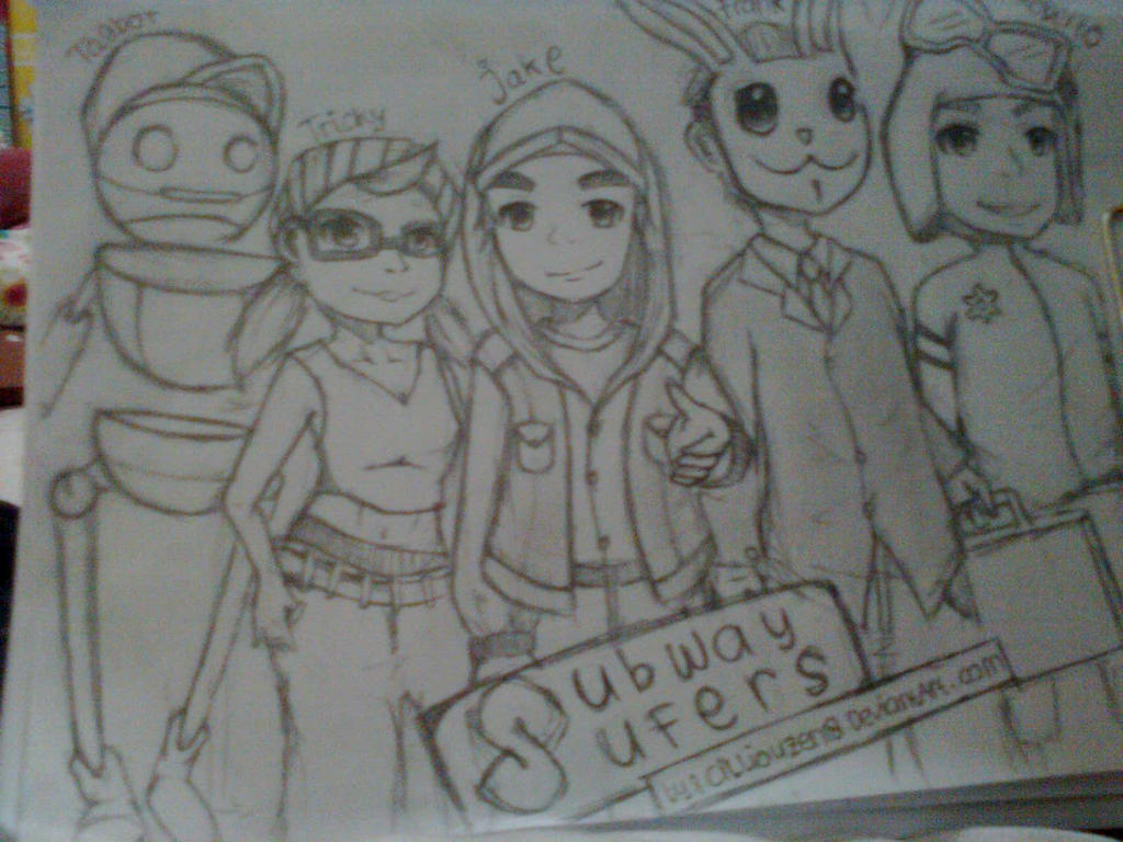 Subway Surfers Fan Art