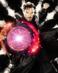 Dark Corrupted Doctor Strange by asherlockfan