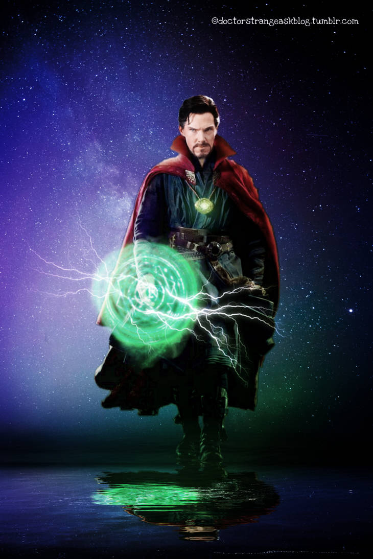 Doctor Strange Time Stone Avengers edit by asherlockfan