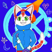 BLiNX: The Cat who Controlled Time by CrazytigerArtist