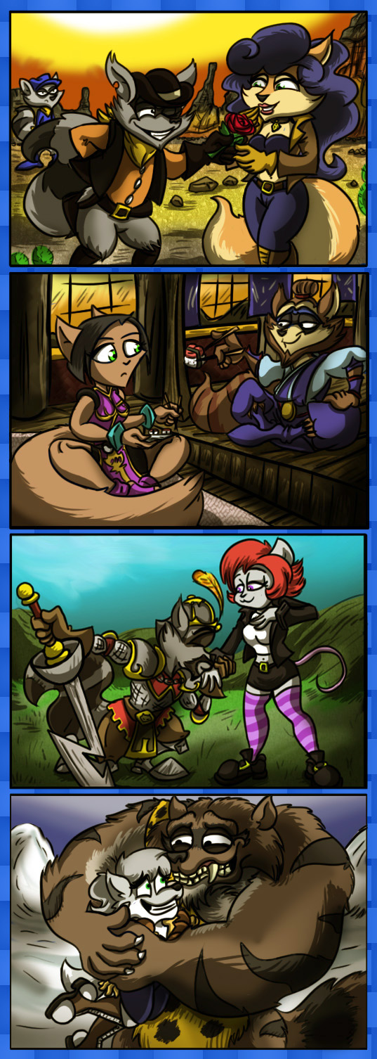 Sly's Ancestors and their Ways with the Ladies Ways_with_the_ladies_by_shinragod-d5x8gbz