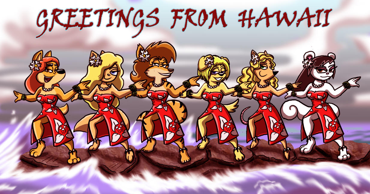 More greetings from hawaii by shinragod on deviantart more greetings from hawaii by shinragod kristyandbryce Choice Image