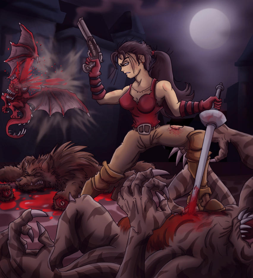 Nadia the Creatures' Nightmare by shinragod