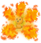 Torchic Flame Burst